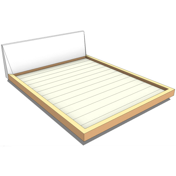 Bensen Frame High Bed