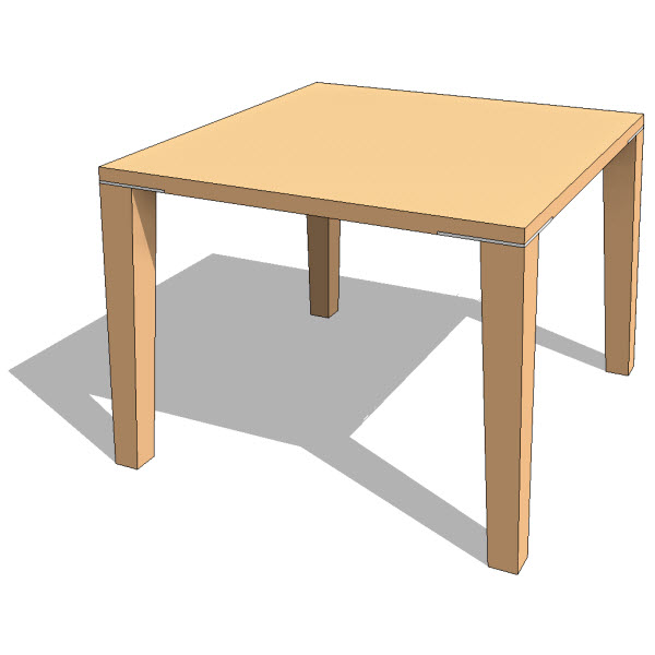 Bensen Plate Table