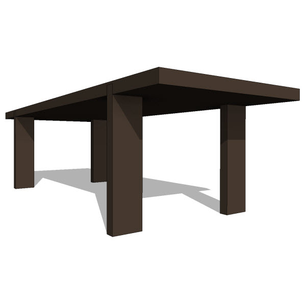 Bensen russel table  revit families