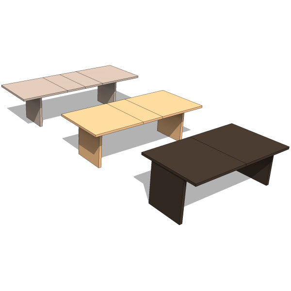 Bensen slider table  revit families