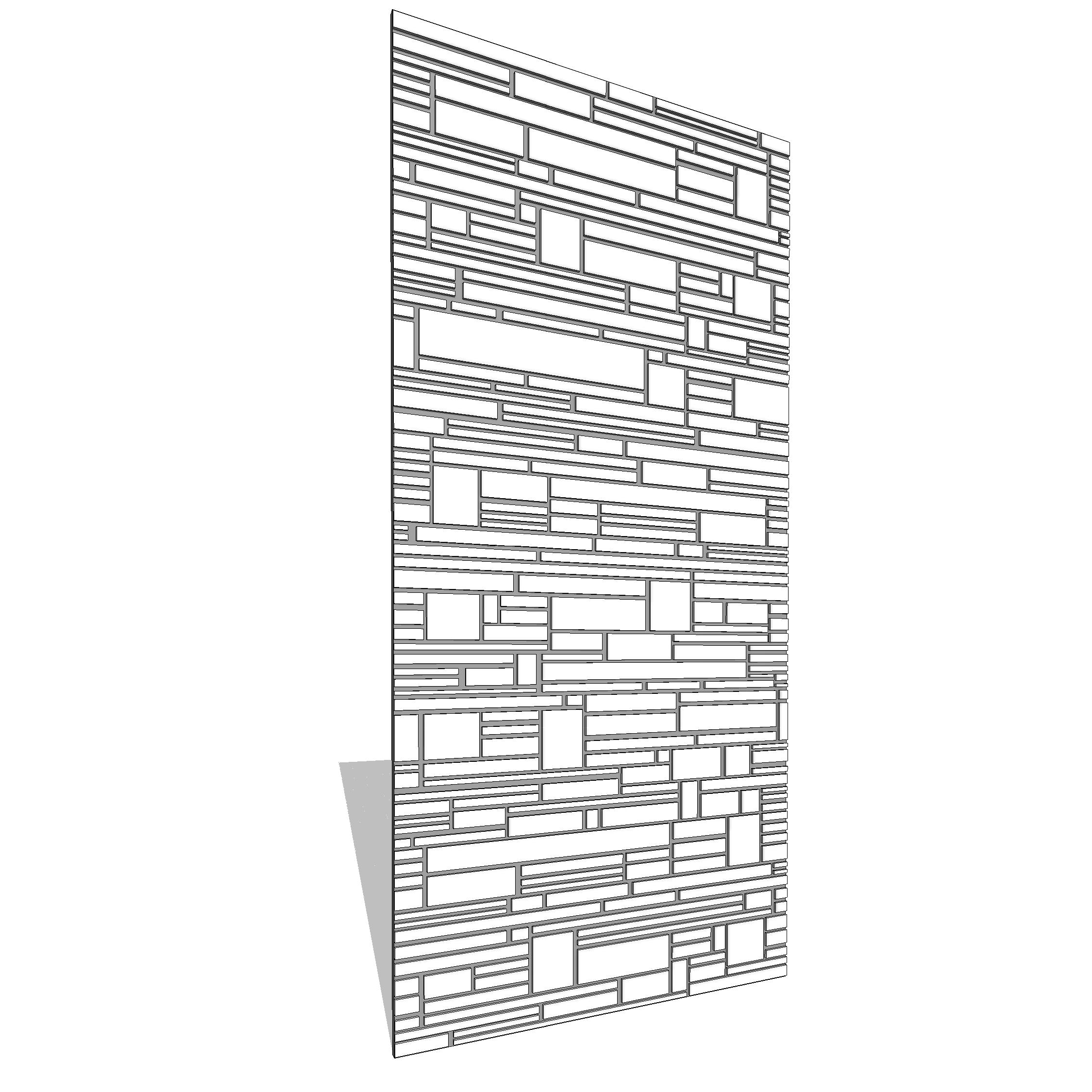 B&N Industries Wright Wall Panel