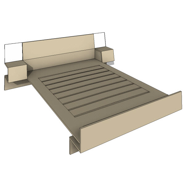 Brave Space Design Folded Bed