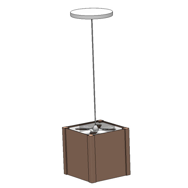 Pendant : Revit Families, Modern Revit Furniture Models