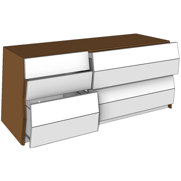 Brave Space Design Planar Bureau Storage