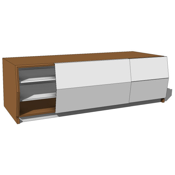 Brave Space Design Planar Console Storage