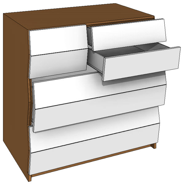 Brave Space Design Planar Dresser Storage