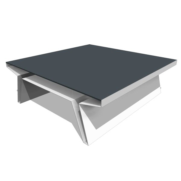 Blu Dot Barbarella Square Table
