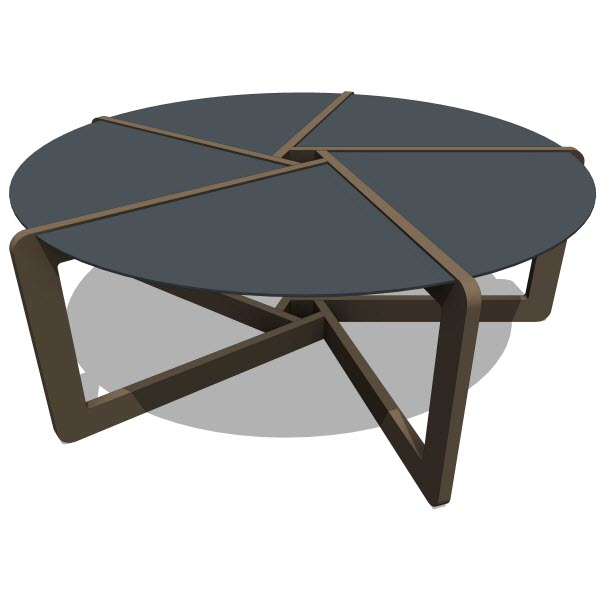 Blu Dot Pi Coffee Table