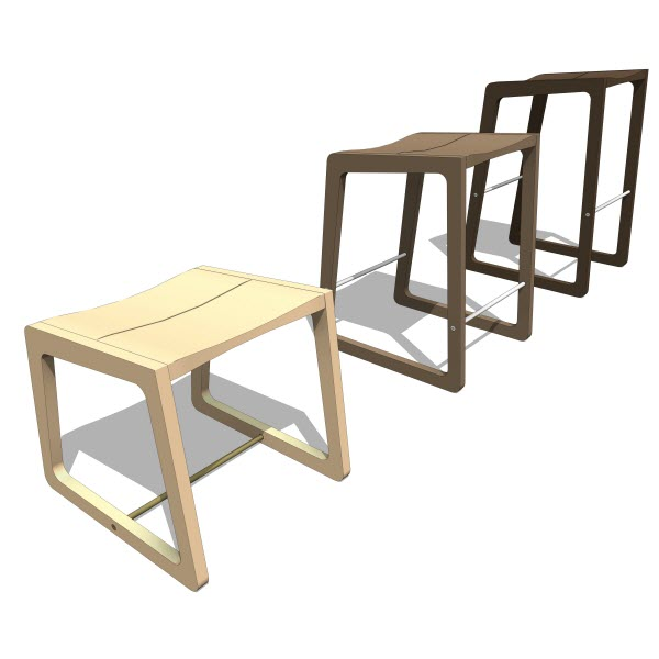 Double Butter Roadrunner Stool