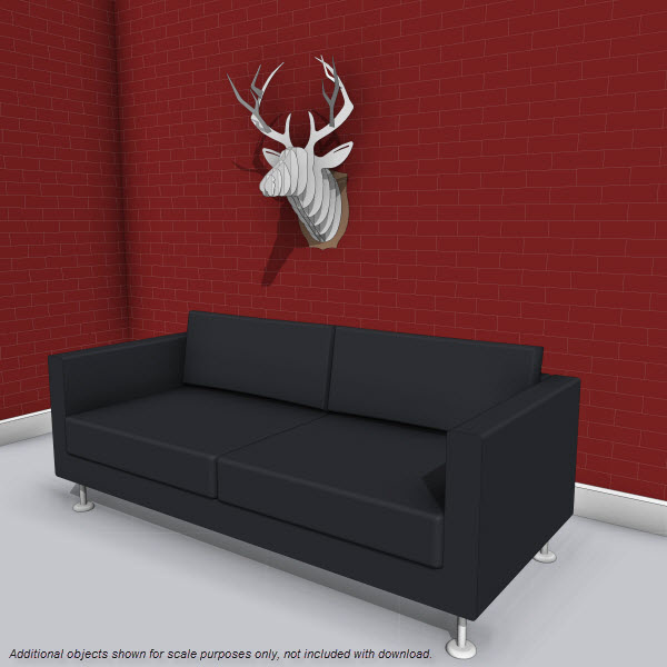 DENY Faux Deer Mount