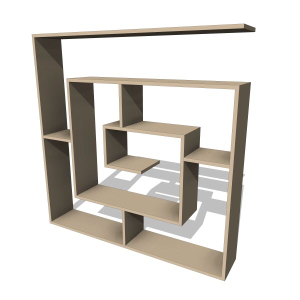 Decortie Labirent Bookcase