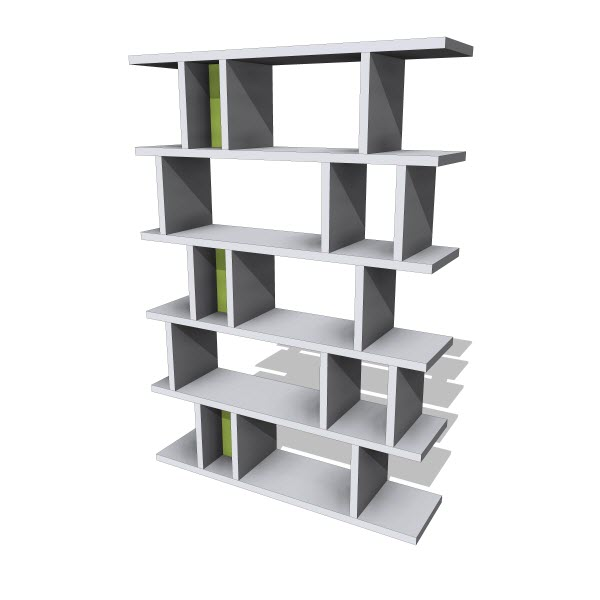 Decortie Tote Bookcase