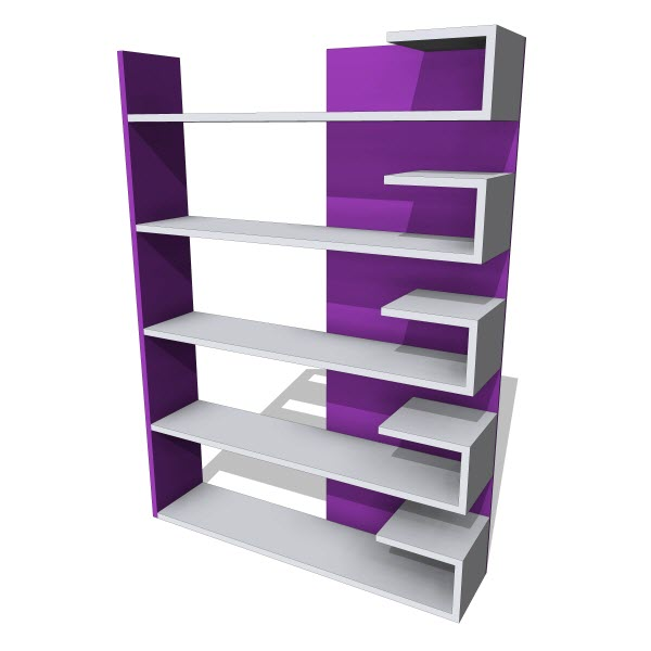 Decortie Wingo Bookcase