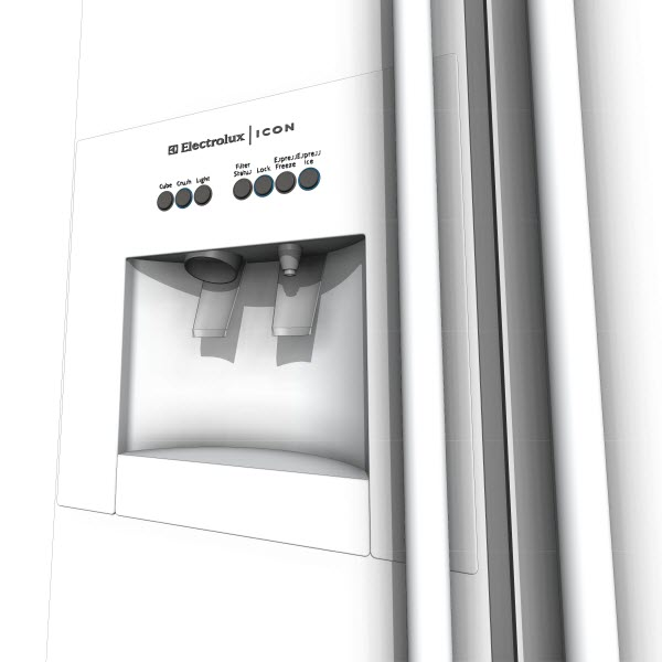 Professional Series Side-by-Side Refrigerator