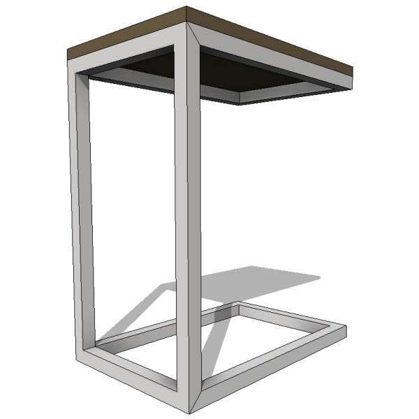 Beau Gus Modern Bishop Table