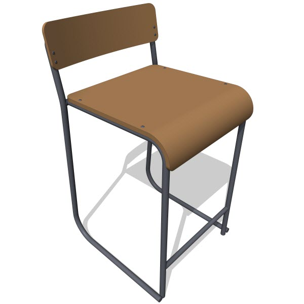 Gus Modern Church Stool
