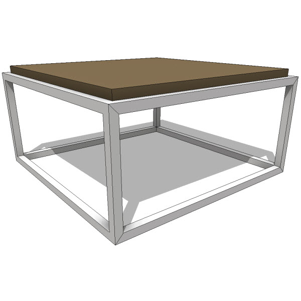 Coffee Tables Revit Families Modern Revit Furniture Models The