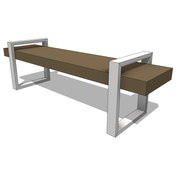 Seating Revit Families Modern Revit Furniture Models