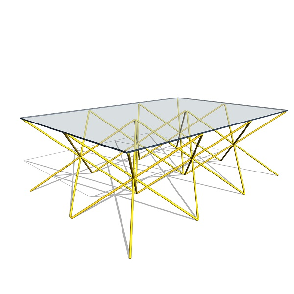 GREY Wire Table