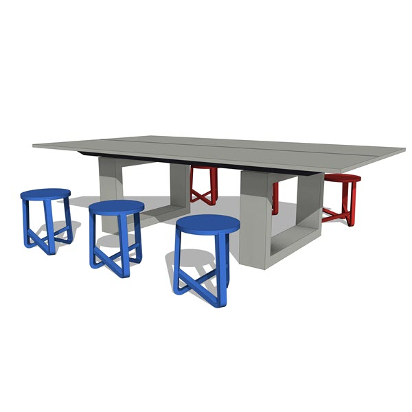 Dining Tables James De Wulf Concrete Ping Pong Dining Table