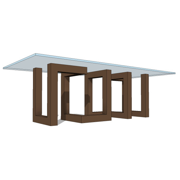 Jh andromeda dining table  revit