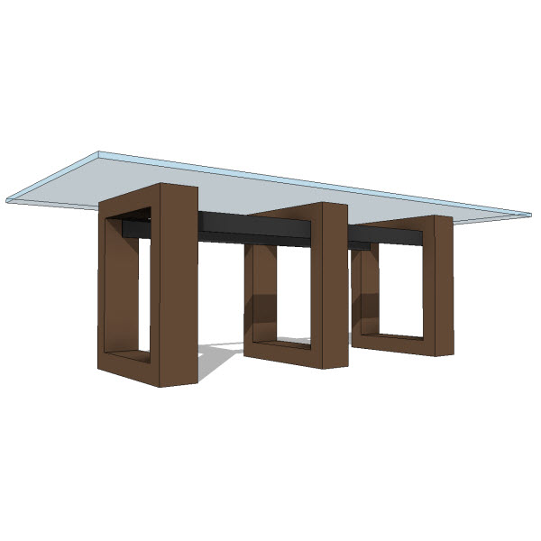 Jh ara dining table  revit families