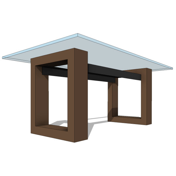 Restaurant Furniture Revit Models : Jh cassiopeia dining table  revit