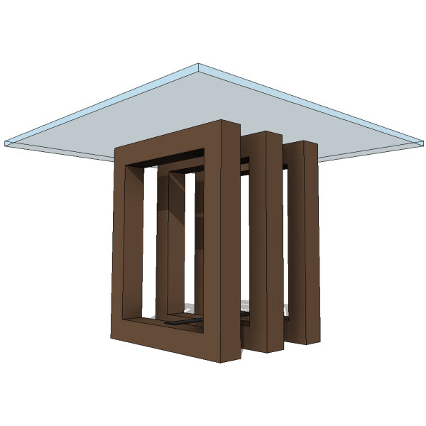 JH2 Hydra Dining Table [10189] - $2 00 : Revit families