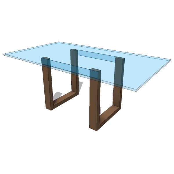 JH2 Lynx Dining Table