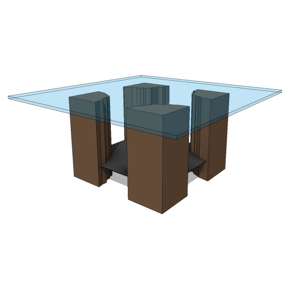 Furniture Revit Families Modern Revit Furniture Models