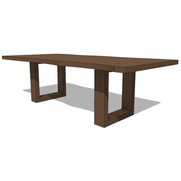 Restaurant Furniture Revit Family : Dining tables revit families modern furniture