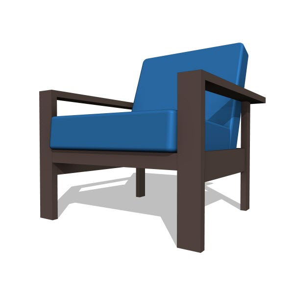 Kagu Jack Lounge Chair