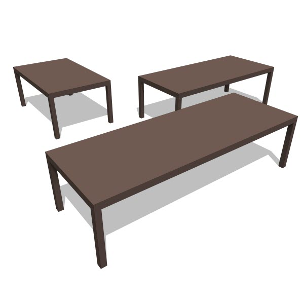 Kagu Revit Families Modern Revit Furniture Models The