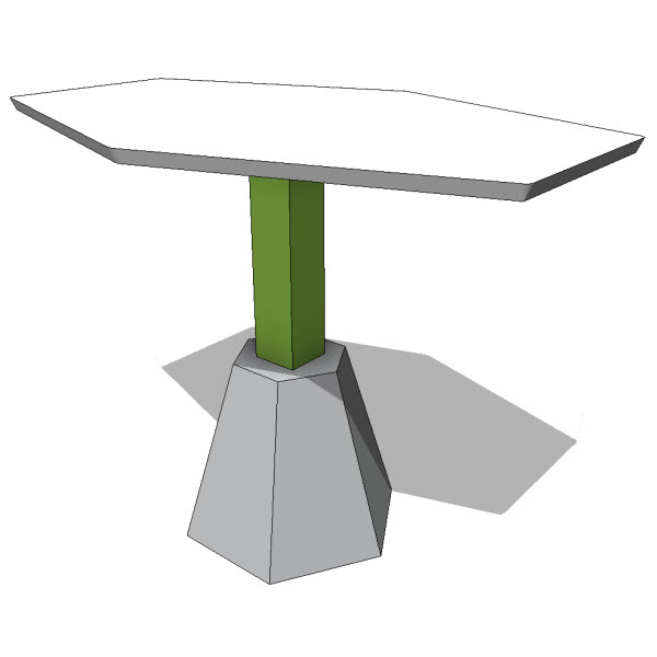 Lebello Diamond Side Table