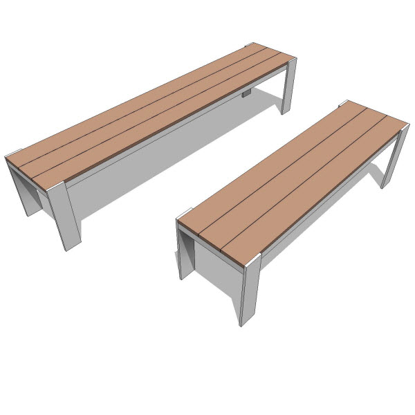 Luma Collection Bench