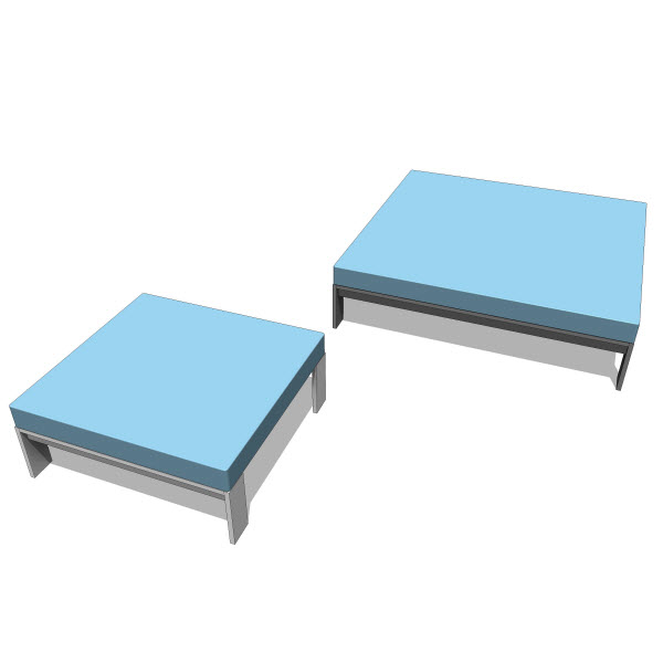 Luma Collection Daybed & Ottoman