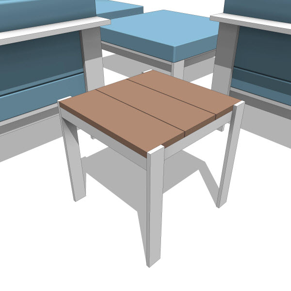 Luma collection stool 10183 revit families for Outdoor furniture revit