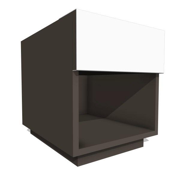 LAX Series Dark Nightstand