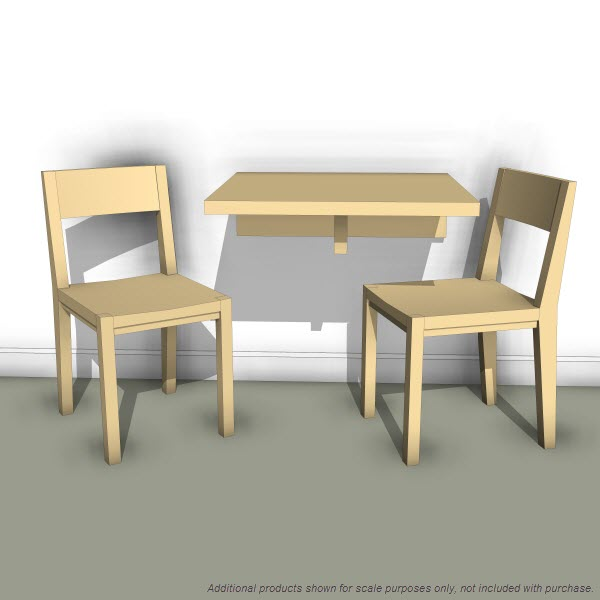 LAX Series Wall Mounted Table 10393 200 Revit