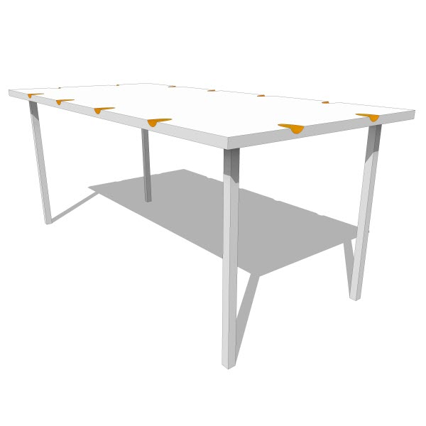 Dining Room Table And Chairs Revit Dining table revit  : NoCoComfortTable01 from ubermed.us size 600 x 600 jpeg 17kB