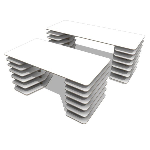 Objekten Strates Desk & Table
