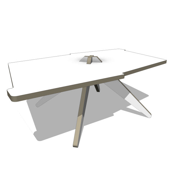 Quattria Vic Coffee Table