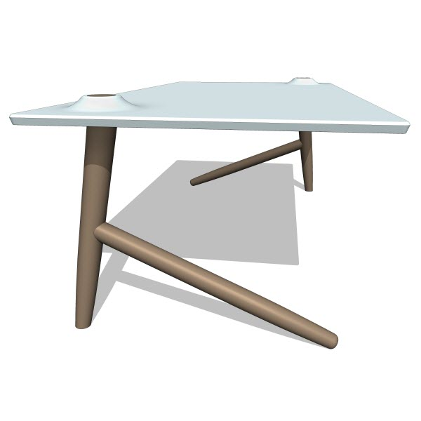Studio Ve Two Leg Table