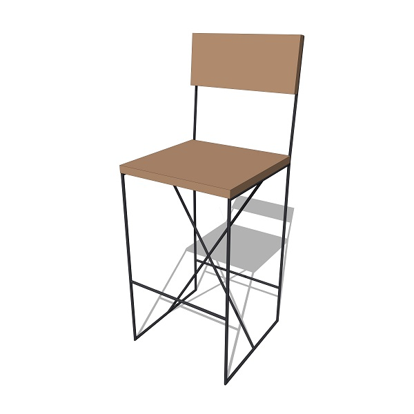 Treeline X-Frame Tall Chair