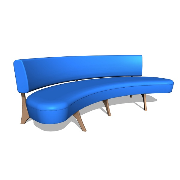 Vladimir Kagan Floating Curve Sofa