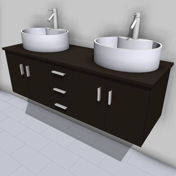 Virtu Enya Double Vanity