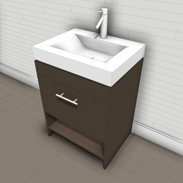 Virtu Gloria Single Vanity