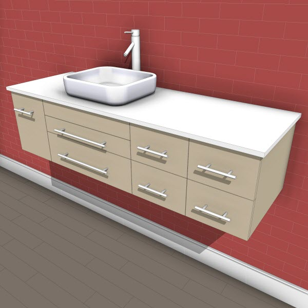 Virtu Justine Single Vanity