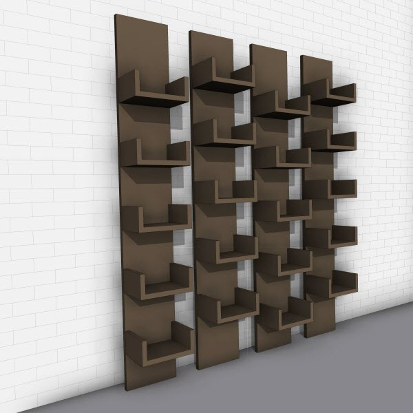 Voos Leaning Shelves