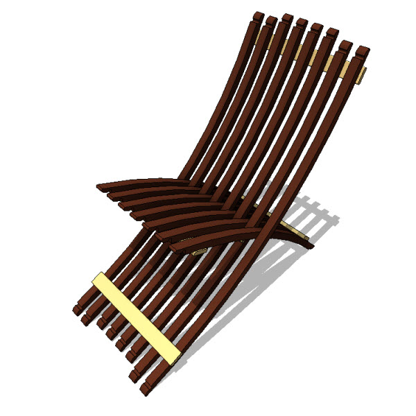 Whit McLeod Folding Wine Barrel Chair